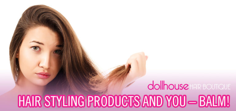Hair styling with balm
