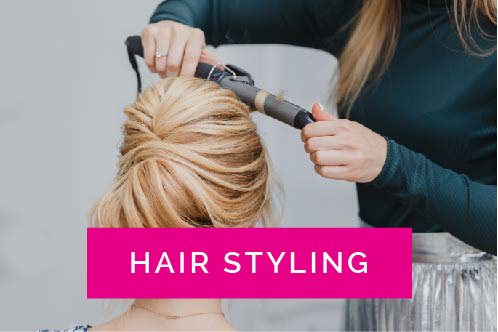 Wedding Hair and Party Night Hair Styling