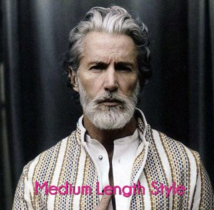 Medium Length Men's Hairstyle