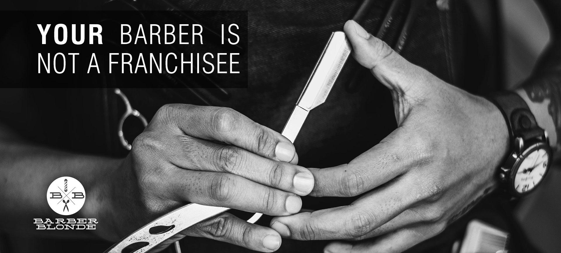 Barber Blonde (Edmonton Barber Shop)