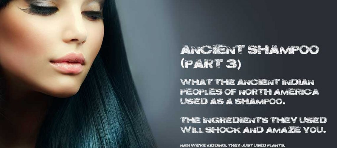 Learn about how ancient people used hair care products
