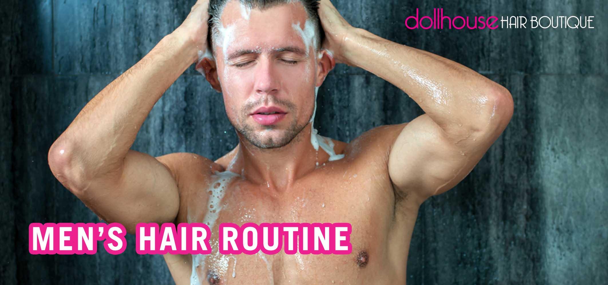men's-hair-routine